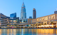 Vew od Downtown Dubai