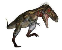 Nanotyrannus dinosaur roaring - 3D render