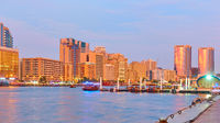 Dubai Creek at twilight