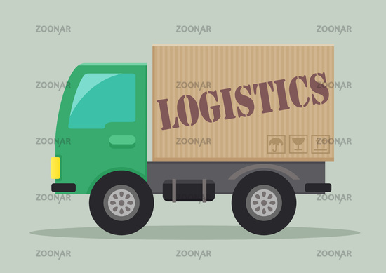 delivery truck logistics