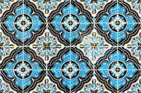 arabic moroccan tile motif
