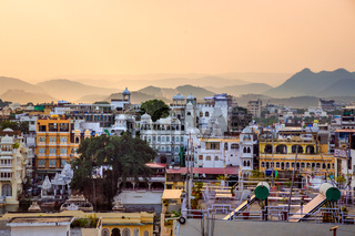 Udaipur, also known as the City of Lakes, is a city in the state of Rajasthan in India. It is the historic capital of the kingdom of Mewar in the former Rajputana Agency.
