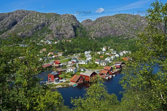 Ana-Sira at the Sira River, Flekkefjord, Norway