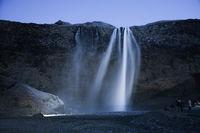 Seljalandsfoss of the waterfall (Iceland)