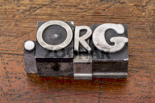 non-profit organization internet  domain