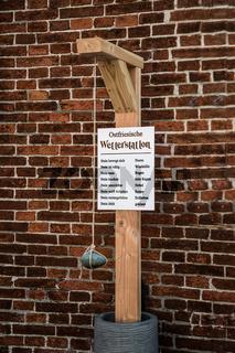 Ostfriesische Wetterstation