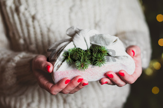 The Christmas reusable sustainable gift made in japanese style