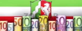 Nordrhein-Westfalen und Geld
