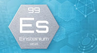Chemical element of the periodic table - Einsteinium