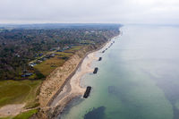 Coastline at Vejby Strand, Denmark