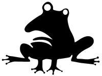 Odd Frog Stencil