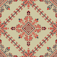 Romanian traditional pattern 126