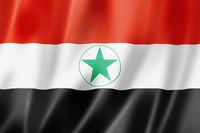 Ahwazi Arabs ethnic flag, Iran