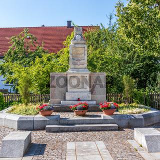 Municipal Germering, District Fürstenfeldbruck, Upper Bavaria, Germany: Ehrendenkmal, Soldier Monument