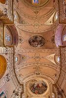 Parish church of Santo Stefano in Malcesine, Italy