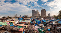 Dhobi Ghat (Mahalaxmi Dhobi Ghat) was an open air laundromat (lavoir) in Mumbai, India. The washers, known as dhobis, work in the open to clean clothes and linens from Mumbai's hotels and hospitals.