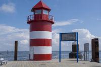 Neuer Leuchtturm, Mole Wyk auf Föhr
