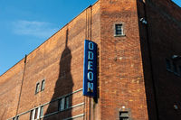 The Odeon cinema on George Street, Oxford city center, England