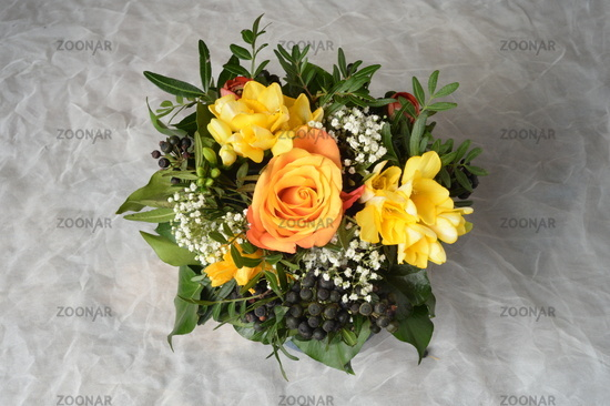 festive bouquet of flowers
