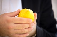 The buyer chooses a citrus