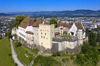 Lenzburg Castle, Lenzburg, Canton of Aargau, Switzerland