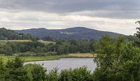 Idyllic riparian Bavarian Forest scenery