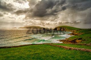 Halbinsel Dingle nach einem Gewitter