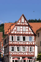 typical house in Calw Germany