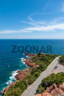 Felsenküste bei Le Trayas