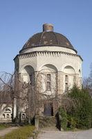 Crematorium at the burial ground, Dortmund