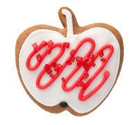 Gingerbread Cookie In Shape Of Apple