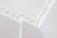 stucco ceiling in flat after renovation