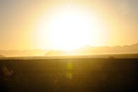 Sunrise in the Namib