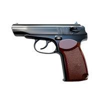 Handgun vector illustration