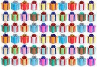 Weihnachten Geschenke Geschenk Geburtstag Hintergrund Sammlung Collage Schachteln schenken isoliert freigestellt