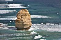 A Single Rock Formation of Twelve Apostles