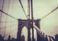 The Brooklyn Bridge In NYC
