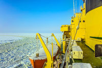 Arctic sea icebreaker