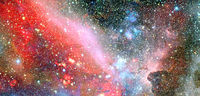 Galaxy stars. Elements of this image furnished by NASA