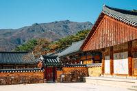 Autumn of Tongdosa temple, Unesco world heritage in Yangsan, Korea