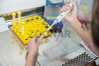 COVID-19 testing equipment