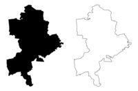 Limbazi Municipality (Republic of Latvia, Administrative divisions of Latvia, Municipalities and their territorial units) map vector illustration, scribble sketch Limbazi map