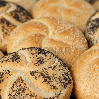 Frische Brötchen vom Bäcker