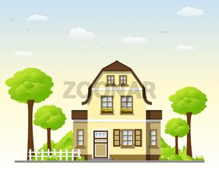 Schönes Landhaus