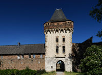 the medieval castle Friedestrom in the historical town of zons
