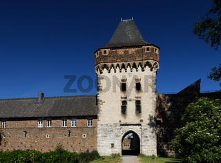 Burg Friedestrom in der historischen Altstadt von Zons