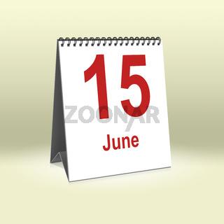 June 15th   15.Juni