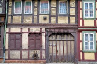 sanierungsbedürftiges Fachwerkhaus in Wernigerode