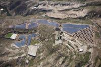 Luftaufnahme Solaranlagen bei El Poris, Teneriffa