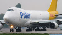 Cargo Airplane Polar Air Boeing 747